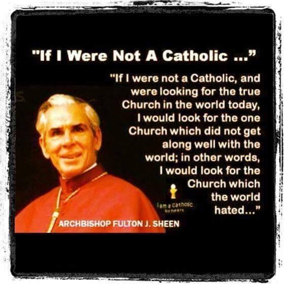 If I were not a Catholic