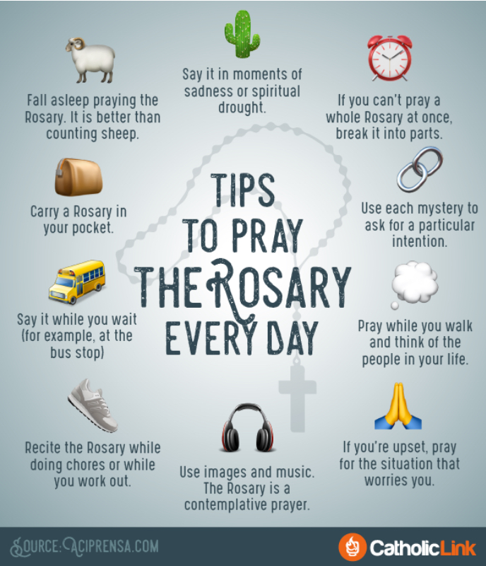 Tips For Praying The Rosary Every Day