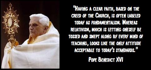 Benedict16 clear faith