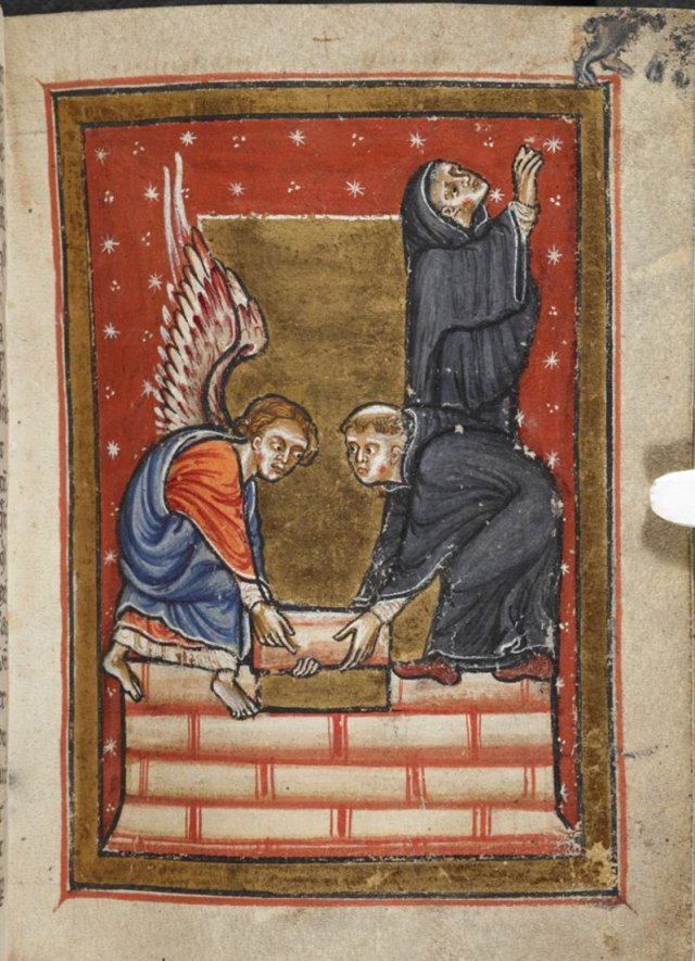 Cath Art 4 Angel helps St Cuthbert build hermitage c12 cent.jpeg