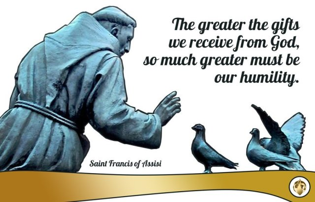 greater gifts greater humility