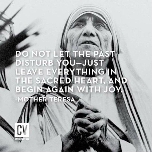 mother TeresA joy