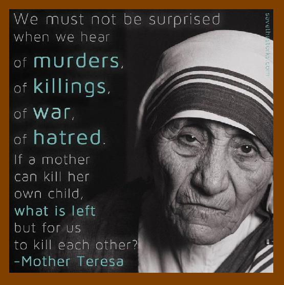 Mother Teresa - What is left