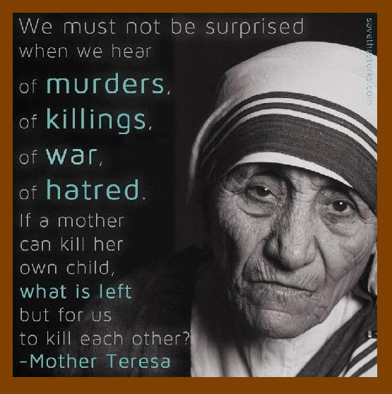 Mother Teresa - What is left