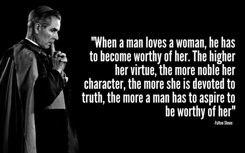 Sheen - how to be worthy of a woman