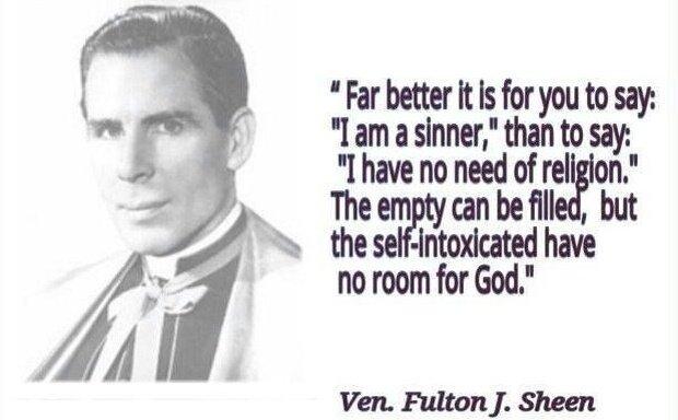 Sheen - no room for God