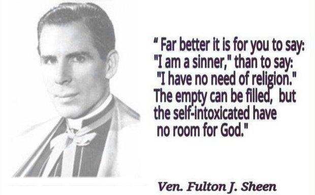 Sheen - no room for God