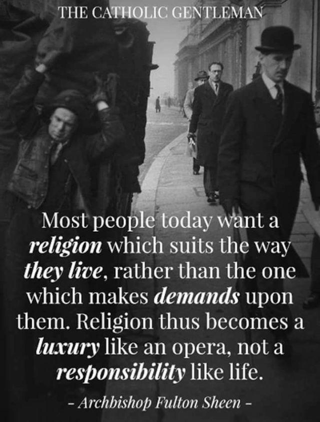 Sheen religion today