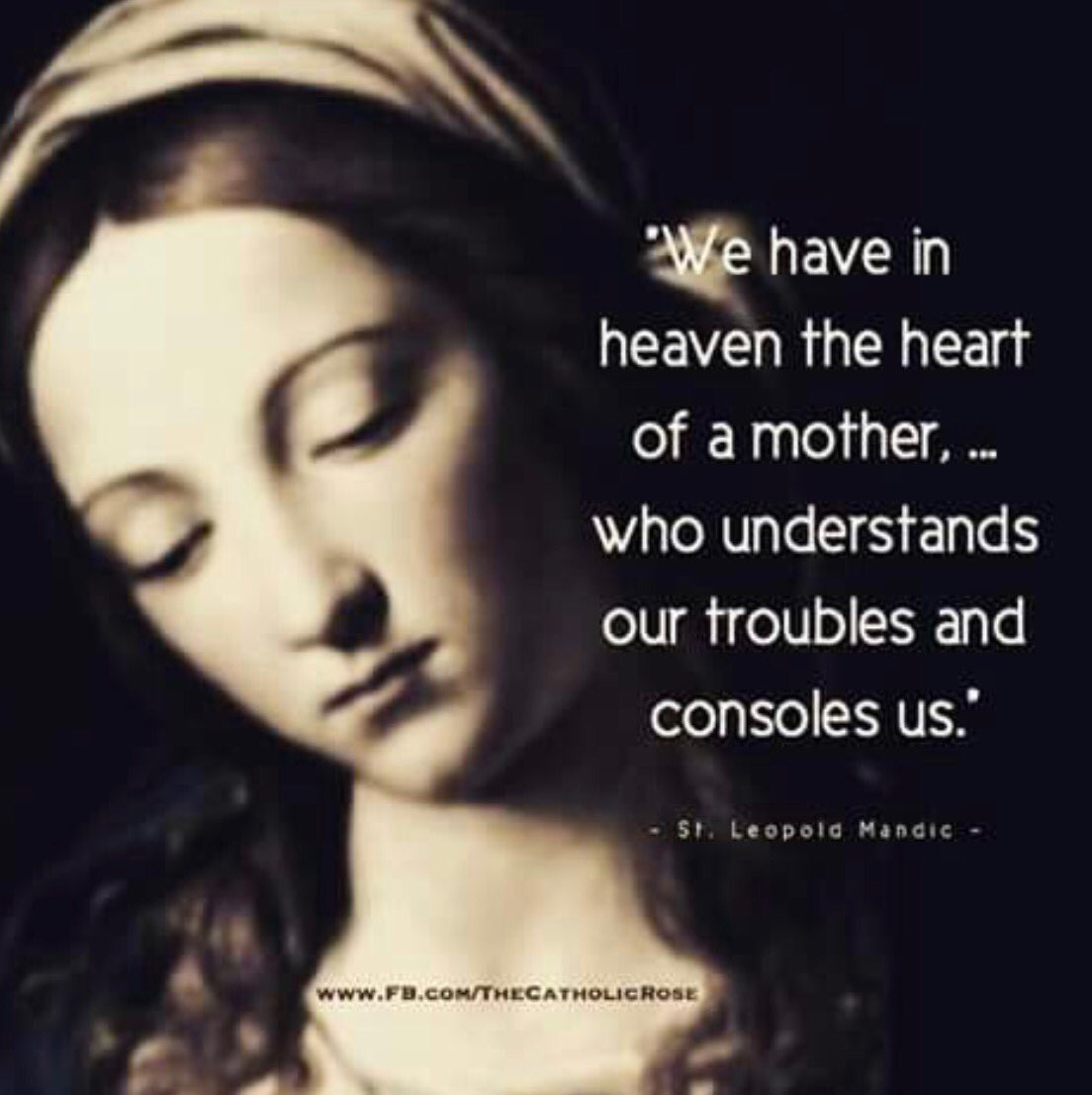 the heart of a mother in heaven