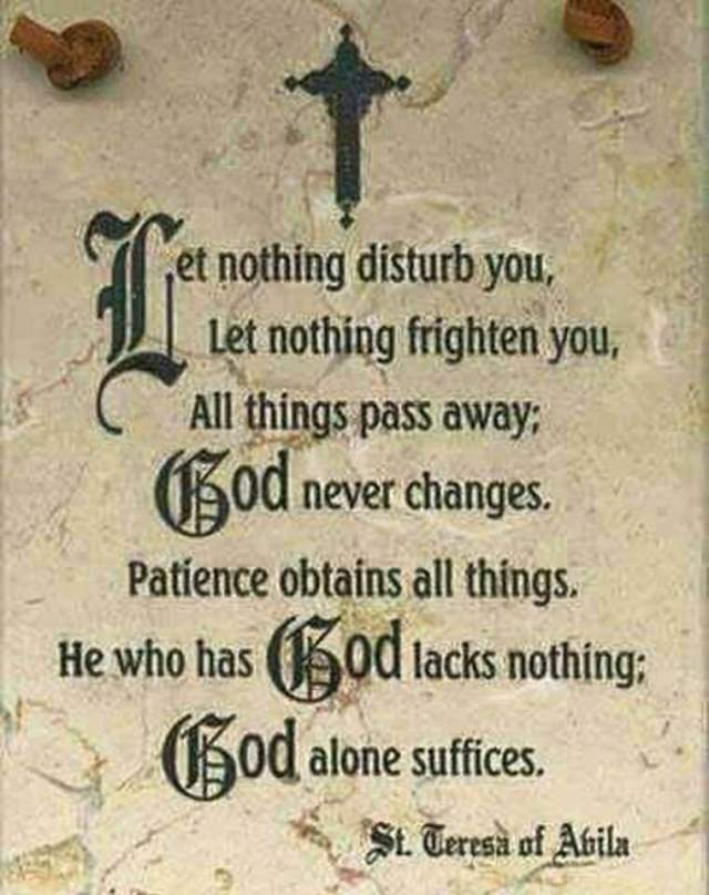 God Alone Sufices