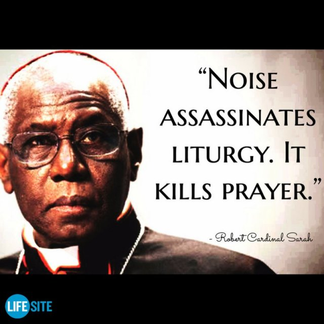 noise and liturgy