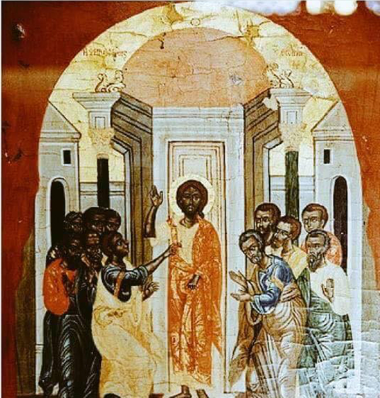 Oldest image of Jesus and the Apostles in Coptic museum in Cairo