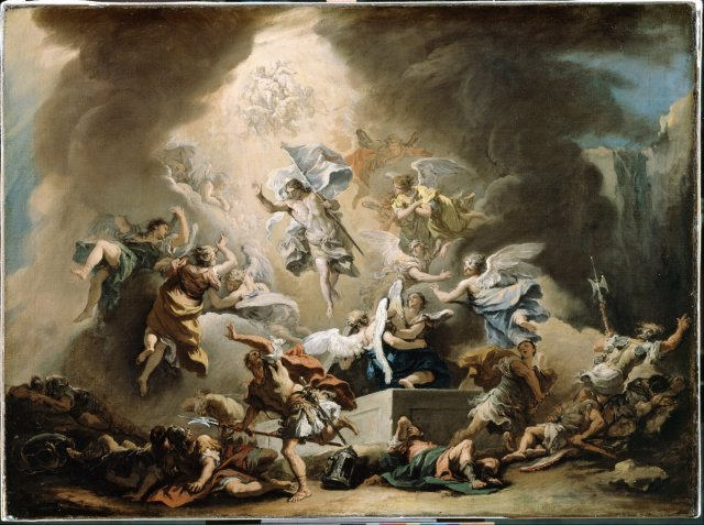 The Resurrection, by Sebastiano Ricci, c. 1715-16.jpg