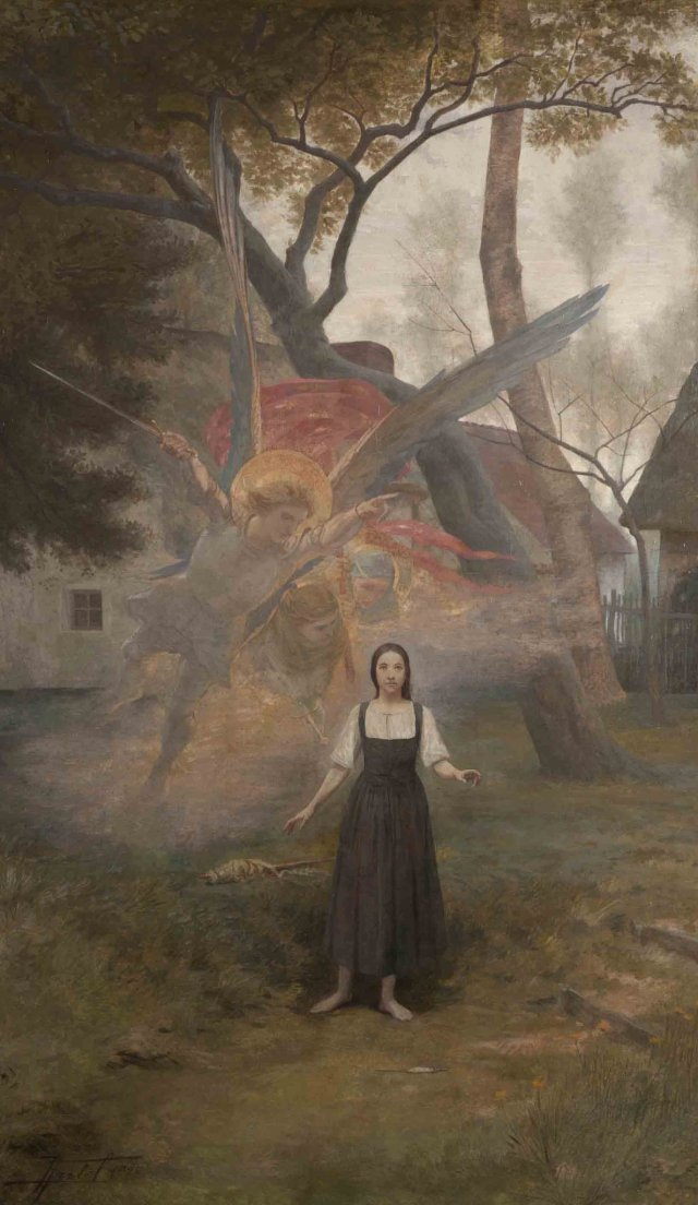 "The Vision of Joan of Arc"" by Pierre Fritel (1890).jpg"