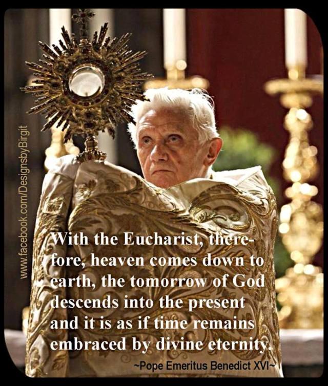 Benedict Eucharist divine eternity.jpg