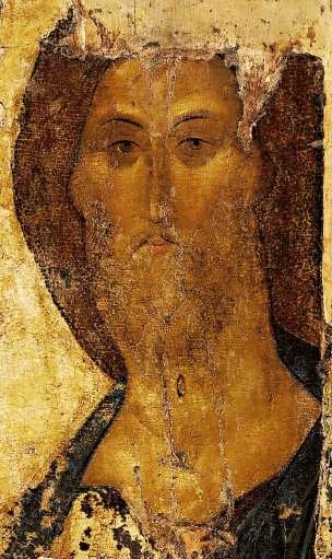 Christ the Redeemer, 1410s, by Andrei Rublev.jpg