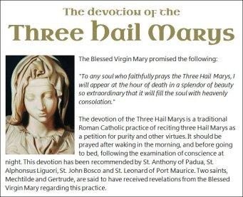 Three Hail Marys 2