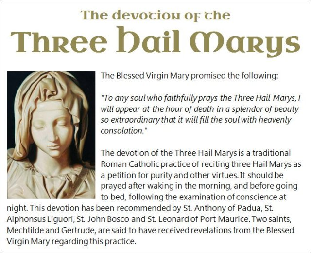 Three Hail Marys 2
