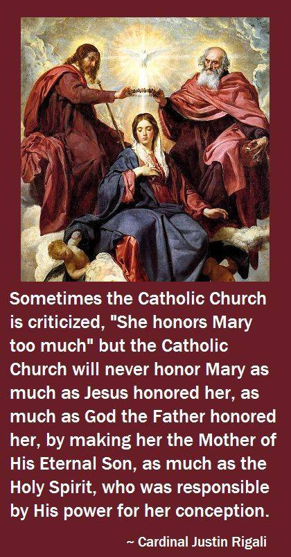 look who honors Mary