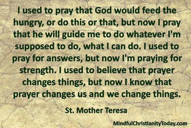 Mother Teresa Quotes On The Eucharist: Mother Teresa Quotes