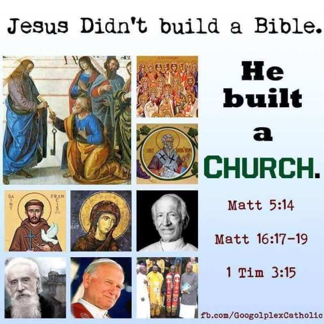 He built a church