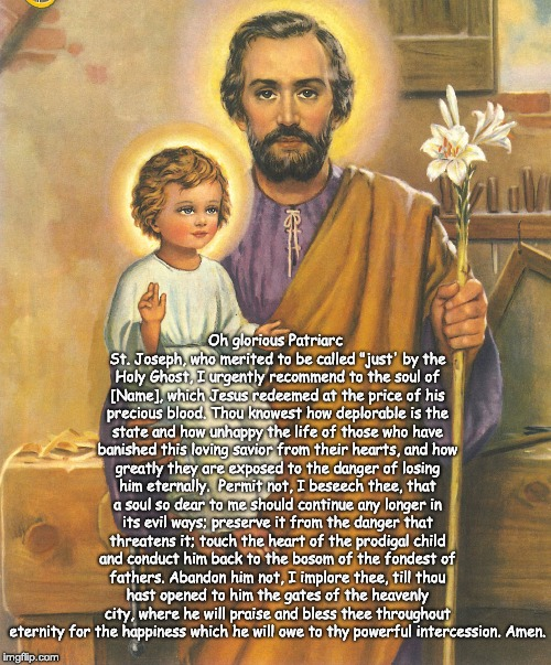 St. Joseph Prayer For Conversion 3