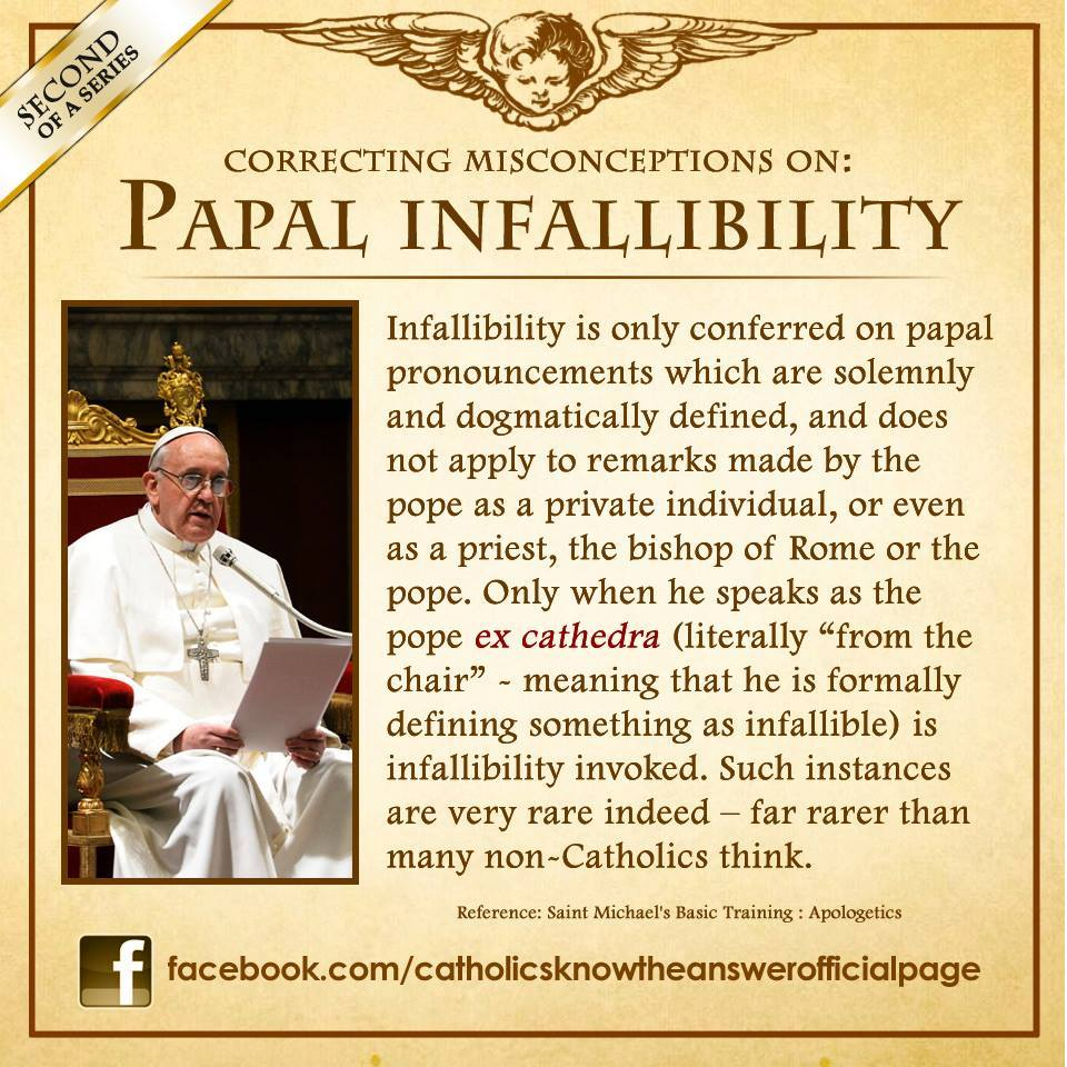 Papal infalibility