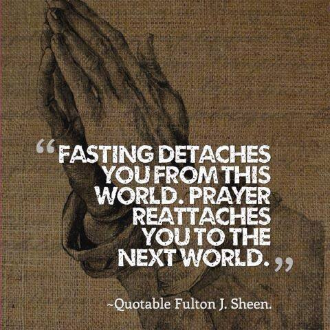 Sheen - Prayer and Fasting