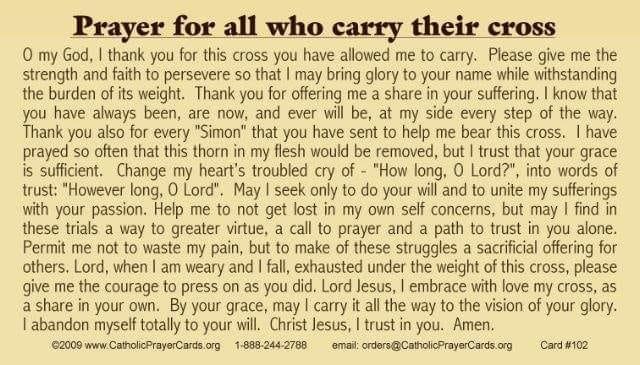 Prayer for thos who carry their crosses.jpg