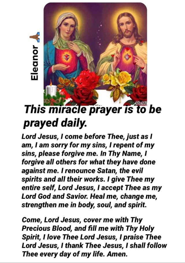 Miracle Daily Prayer