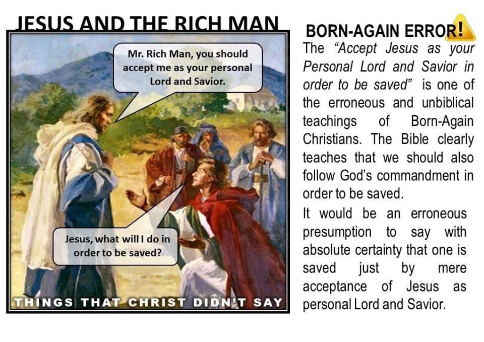 Jesus and the rich man
