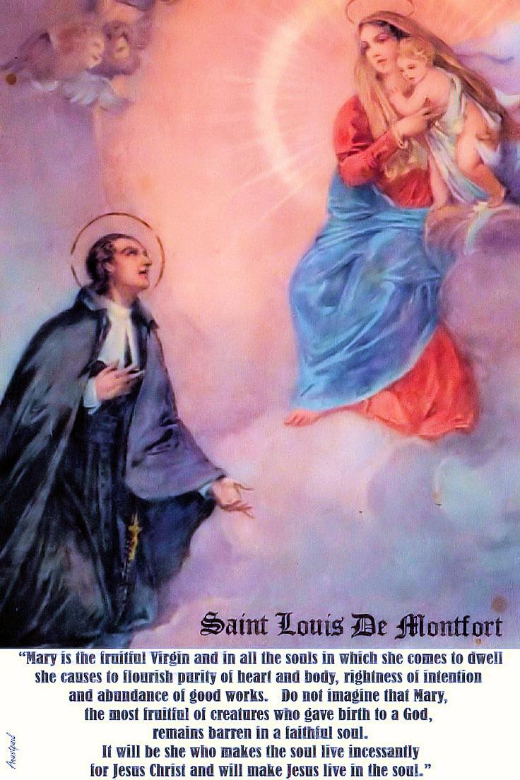 Mary the Fruitful Soul - St. Louis De Montfort