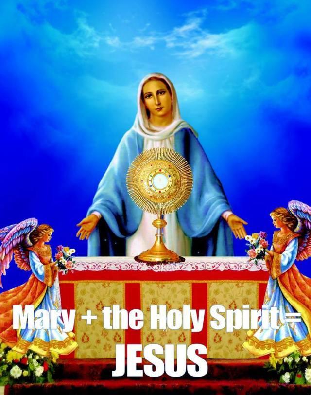 Mary + The Holy Spirit = Jesus.jpg