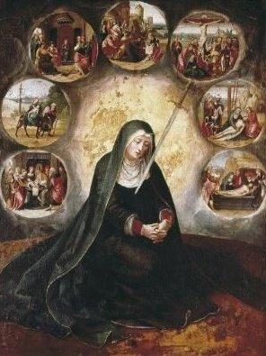 the 7 sorrows of Mary