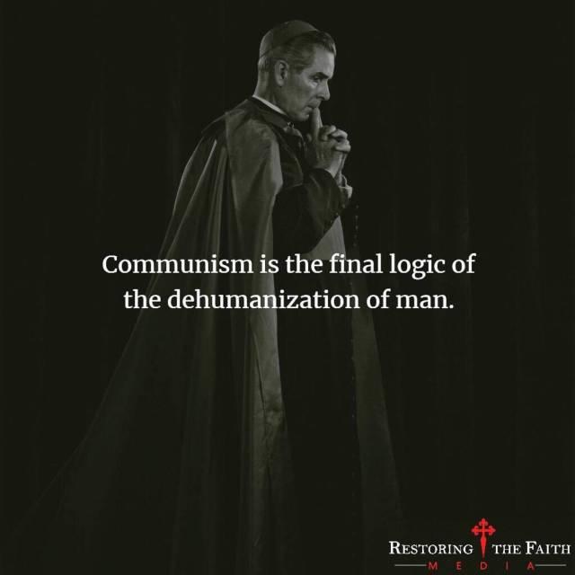 Sheen - communism the final logic of the dehumanization of man.jpg
