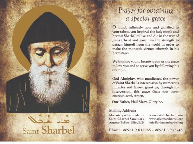 St Sharbel prayer .jpg